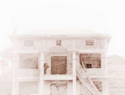 农村带四方柱房子外观图片