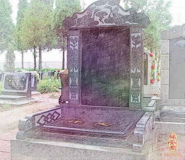 立墓碑后墓字下面的土要压住吗