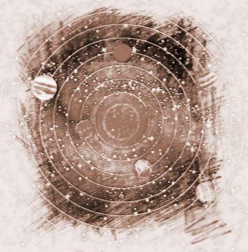 太阳系九大行星大小图片