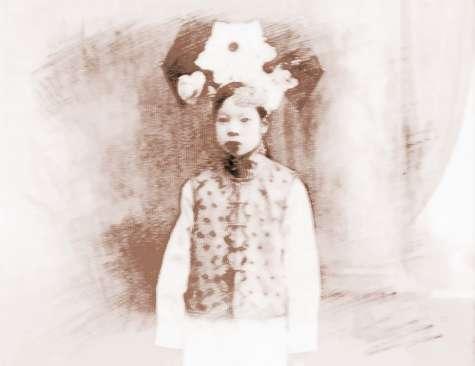 额尔德特.文绣--清朝末代皇妃-额尔德特 文绣